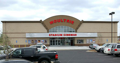 Moultrie Cinemas Exterior