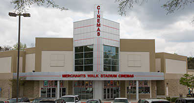 Merchants Walk Cinemas Exterior