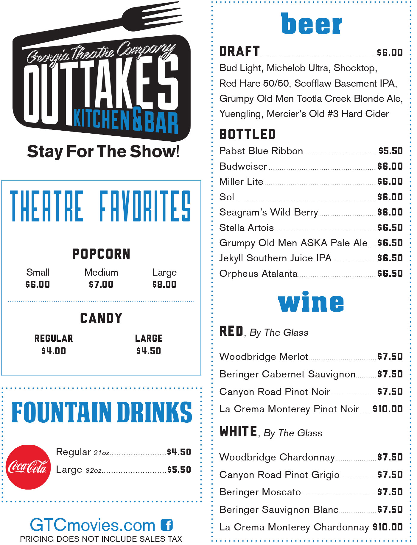 Outtakes Kitchen Bar