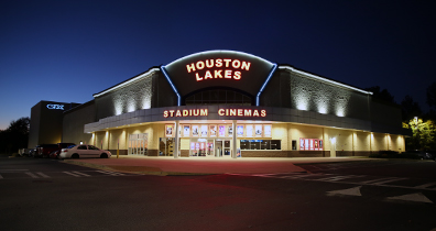Houston Lakes Cinemas Exterior