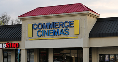 Commerce Cinemas Exterior